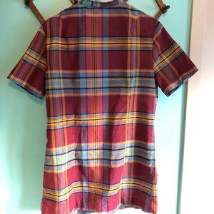 VTG 60s Plaid Mini Dress